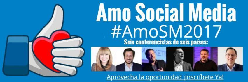 Amo Social Media 2017. Congreso online gratuito